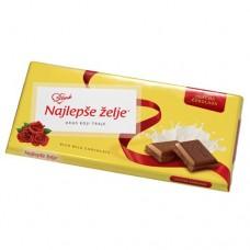 Najlepse Zelje milk chocolate / Najlepše Želje mlečna čokolada 90g
